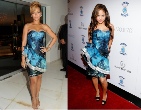 Rihanna vs. Kat Deluna